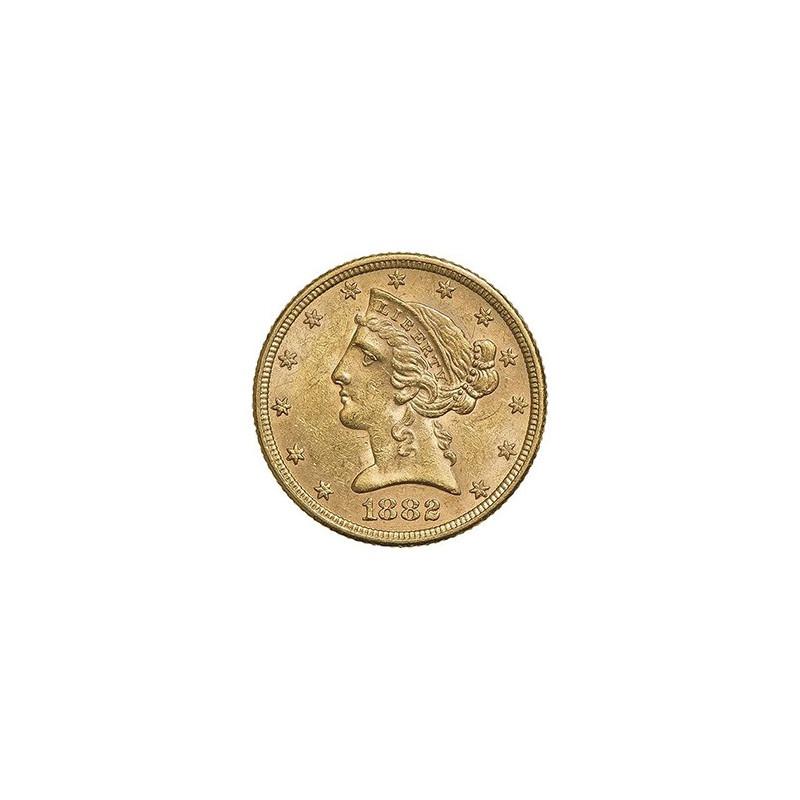 5 Dollars US